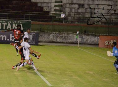 Vitória empata com o Botafogo-PB e se classifica para as quartas de final do Nordeste