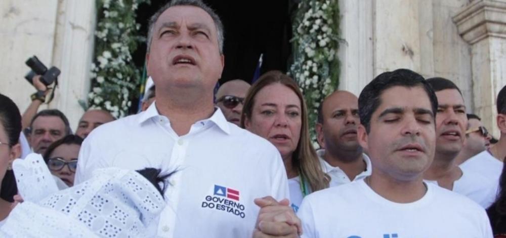 Avaliação positiva de Rui Costa e ACM Neto cresce, revela pesquisa Foto: Fernando Vivas/GOVBA