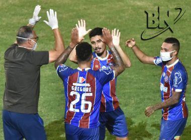 Com gol nos minutos finais, Bahia vence o Confiança