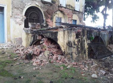 Santo Amaro: Parte de estrutura da casa do Samba