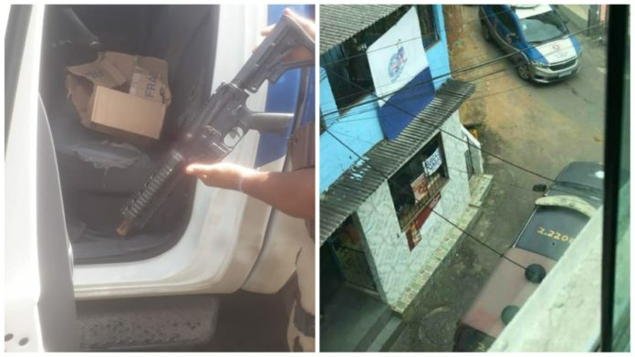 Policial baleado e bandido morto em Campinas de Pirajá