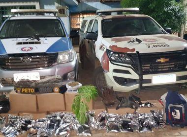 Assaltantes de bancos são presos na cidade de Banco