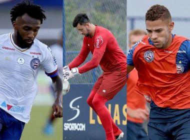 Bahia confirma renovações de contrato com Edson, Gustavo e Mateus Claus