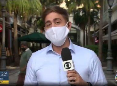 Repórter da Globo, Erick Rianelli se declara para marido ao vivo; assista