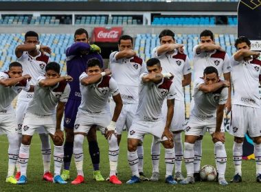 Elenco do Fluminense abre mão de salário integral ao se posicionar contra volta