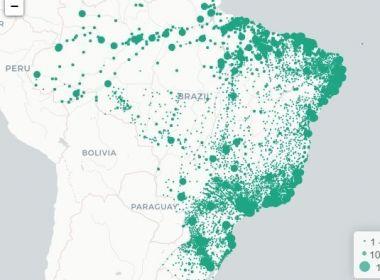 Cidades do interior já respondem por quase 60%