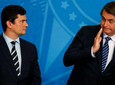 PF pede ao STF autorização para depoimento de Bolsonaro sobre denúncias feitas por Moro