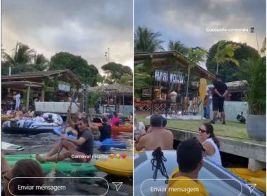 Live do Harmonia causa aglomeração em condomínio de luxo em Camaçari