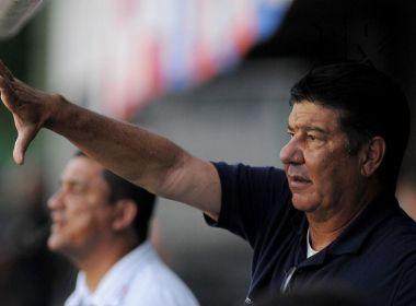 Joel Santana justifica polêmica com torcida do Bahia: 'Não foi minha intenção'; assista